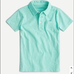 J Crew Kid's short sleeve polo shirt